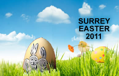 Easter Egg Hunts & Activities in Surrey 2011