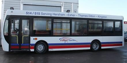 falcon buses surrey