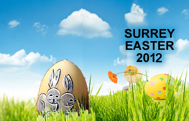 Surrey Easter Events in 2012