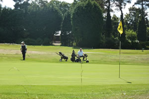 Golfing in Surrey