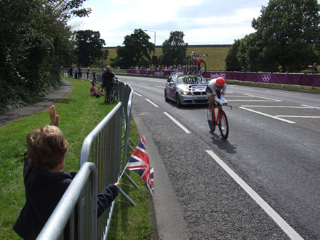 Tony Martin, Time Trial Silver Medal Winner