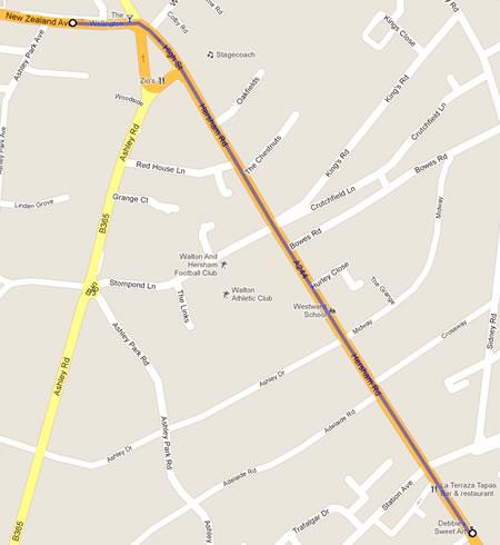 Road Closures in Surrey